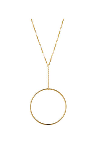 NORMA MAXI NECKLACE - HIGH POLISHED GOLD