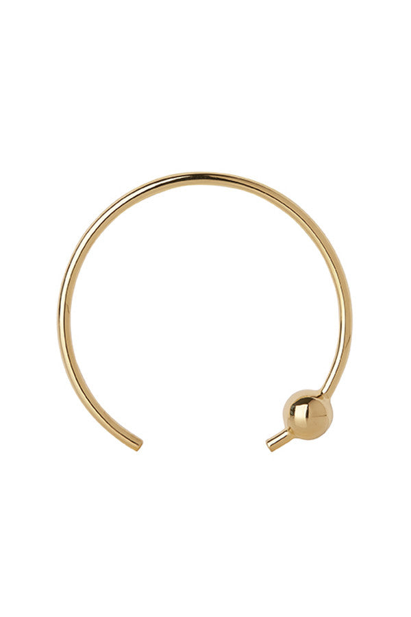 ORION BANGLE - HIGH POLISHED GOLD