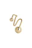 ORION EAR CUFF - HIGH POLISHED GOLD