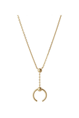 PHOENIX MINI NECKLACE - HIGH POLISHED GOLD