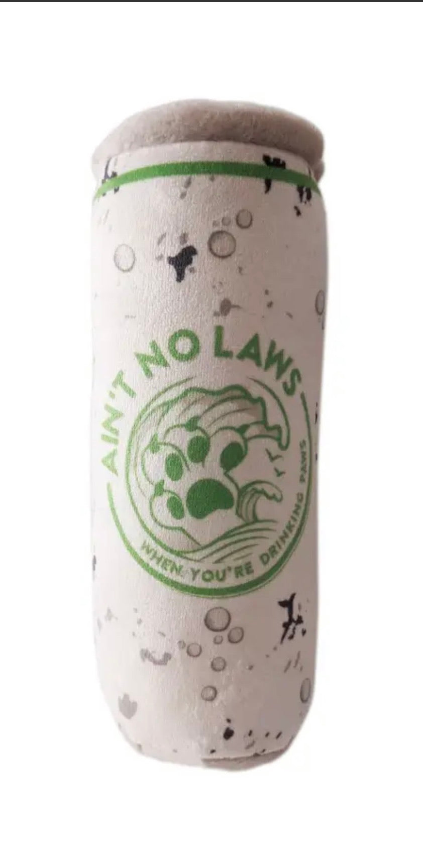 White Paw Lickety Lime Dog Toy