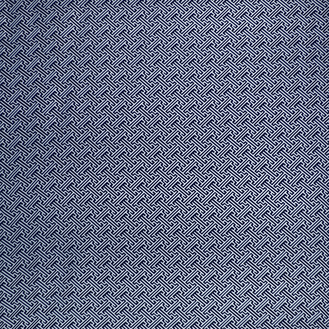 Bhutan Lattice Reverse - Navy