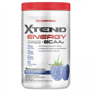 Xtend Energy BCAA - Blue Raspberry