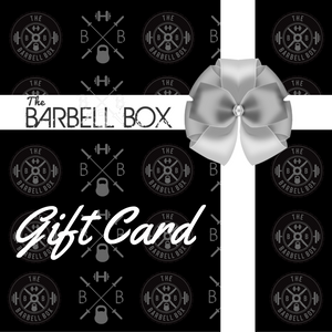 The Barbell Box Gift Card