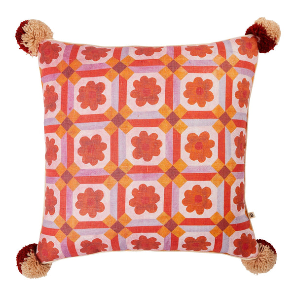 ASTER CUSHION 50cm | Orange | Bonnie & Neil