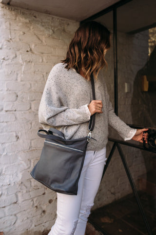 Bahru Rome Bag in grey