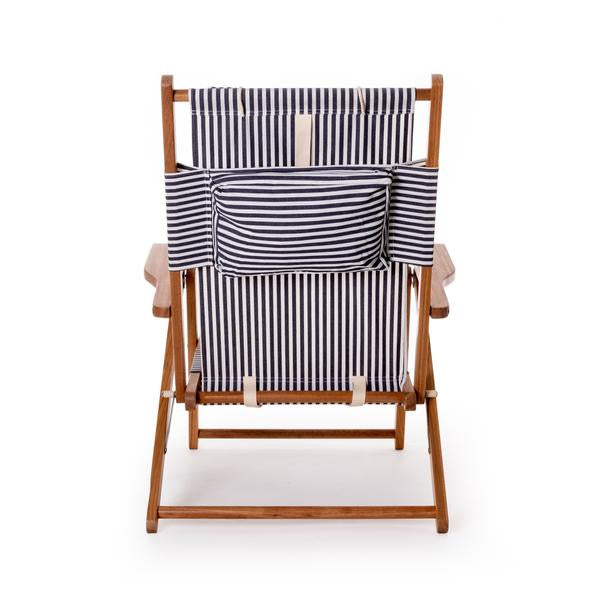 THE TOMMY CHAIR | Lauren's Navy Stripe