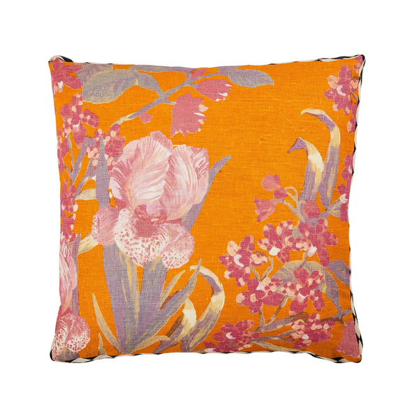 IRIS CUSHION 50cm | Saffron | Bonnie & Neil