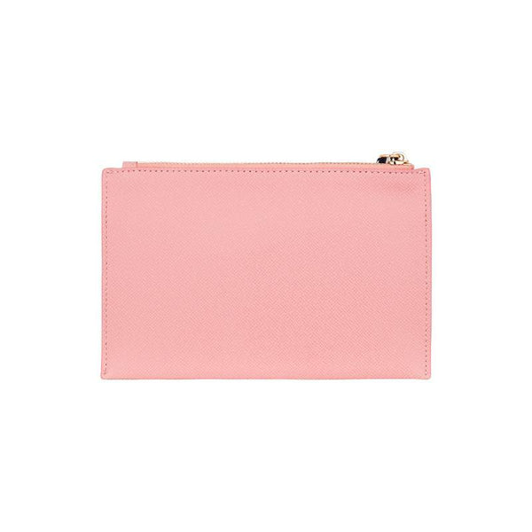 Elms + King New York Coin Purse Carnation Pink