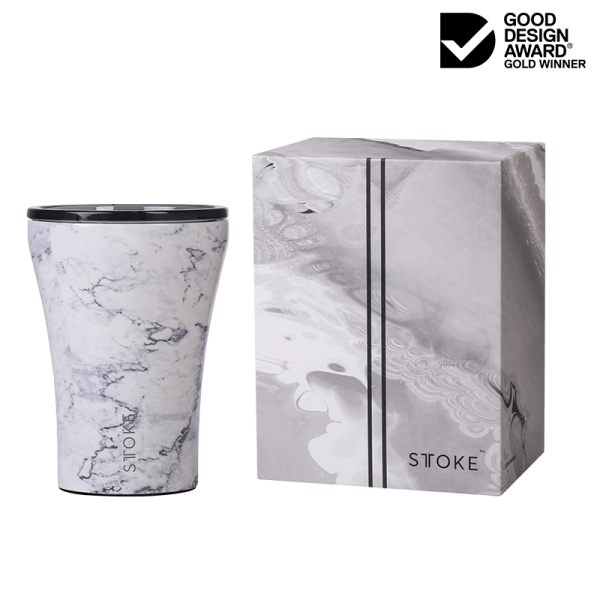 STTOKE Ceramic Reusable Cup Marble