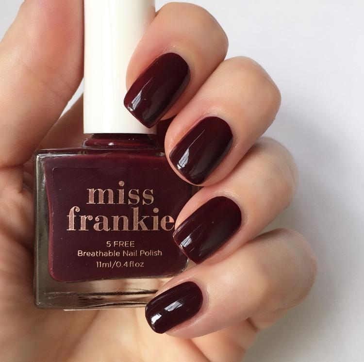 miss frankie - current mood nail polish - vegan - cruelty free