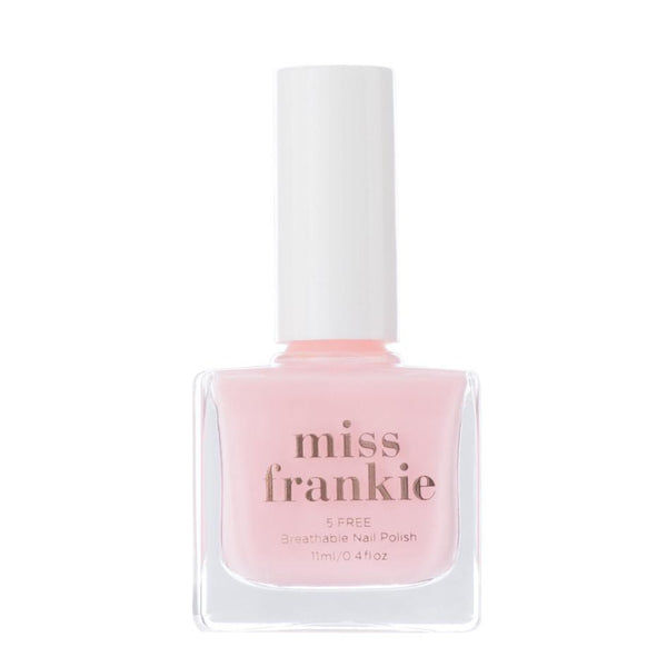 miss frankie - nail polishes - make me blush - vegan - cruelty free - breathable