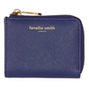 Fenella Smith Vegan Leather Coing Purse Wallet in navy