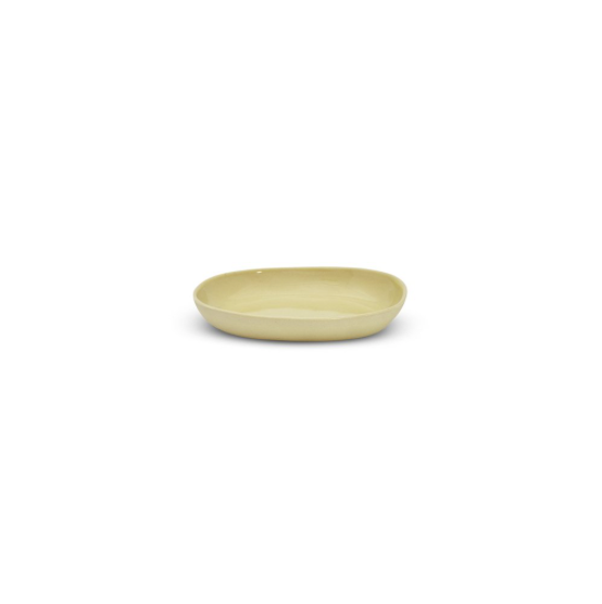 CLOUD OVAL PLATE SMALL | Lemon