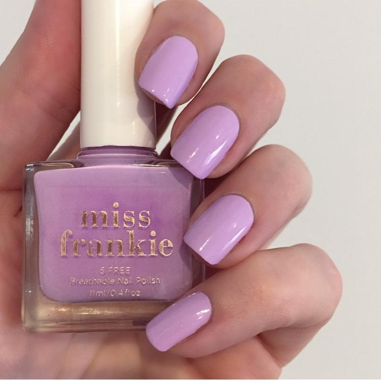miss frankie - weekend affair - nail polishes - breathable - vegan cruelty free