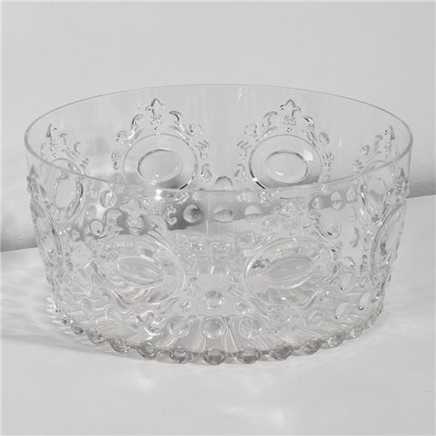 ACRYLIC SALAD BOWL | Clear