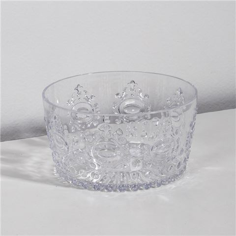 ACRYLIC SNACK BOWL | Clear