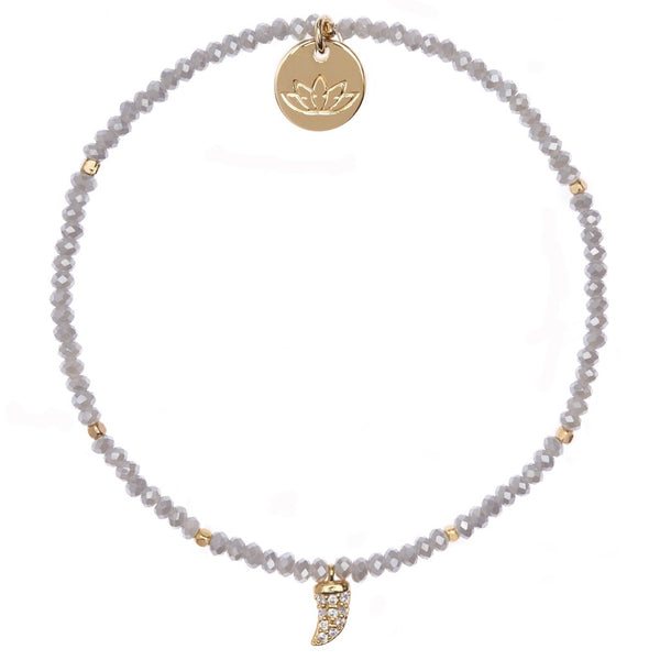 Luv and Bart Adelaide bracelet in smoke