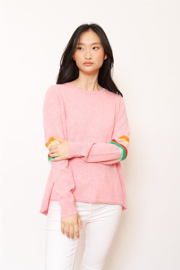 SATURN SWEATER | Tickled Pink | Alessandra