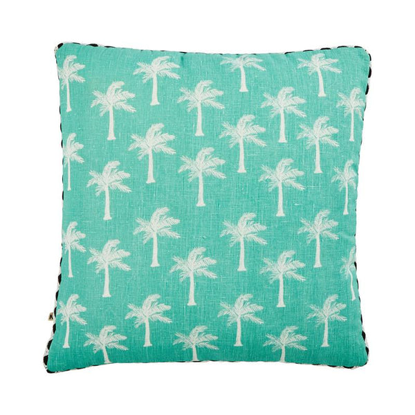 TINY PALMS CUSHION - Mint - Bonnie and Neal - Homewares - Mosman Park