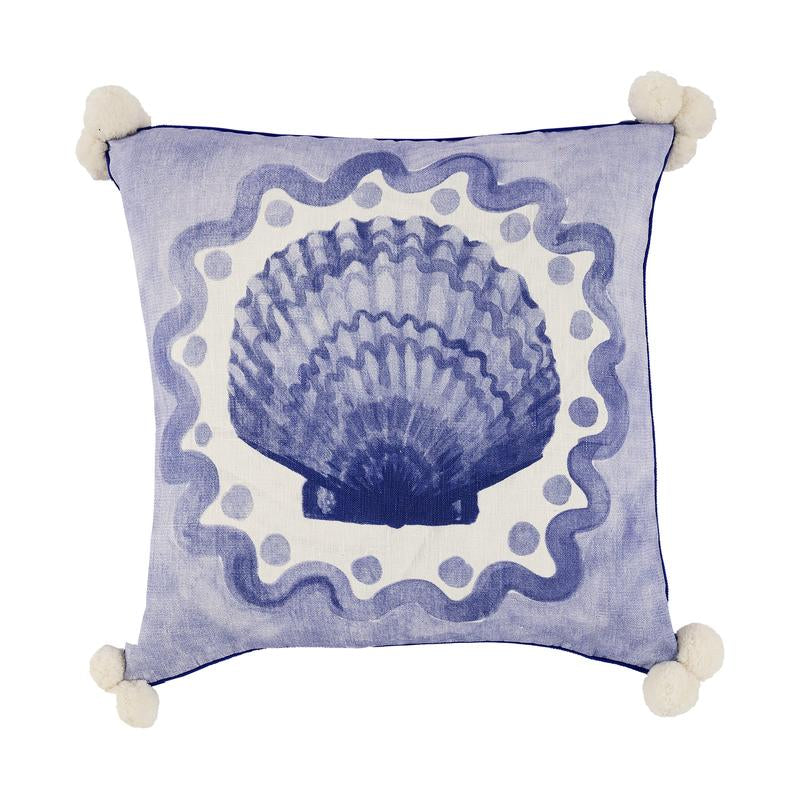 Bonnie and Neil Coast Cushion in Blue - Homewares - Mosman Park - Perth - Darling & Domain