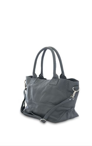 Bahru Paris tote bag grey