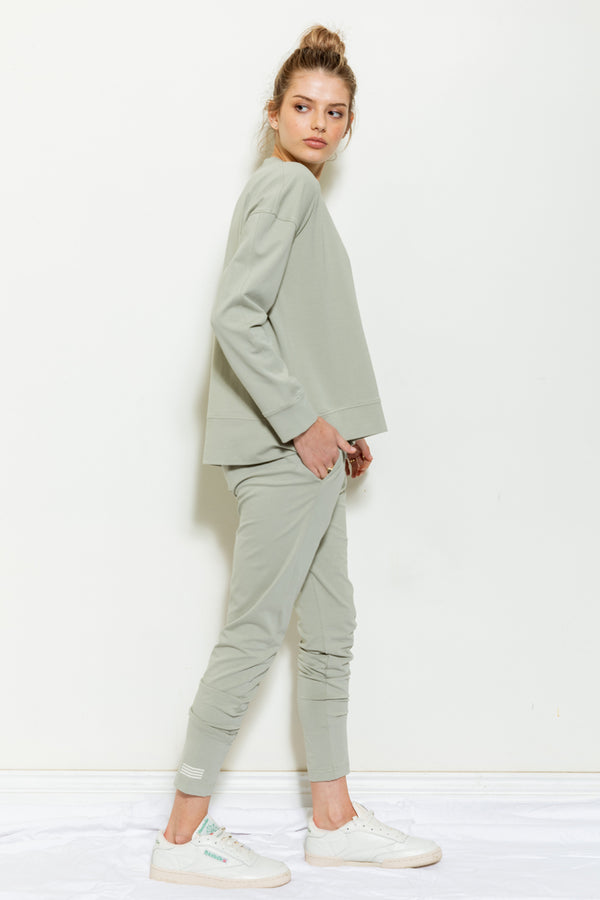 LIGHTWEIGHT SWEAT | Sage | Bande Studio