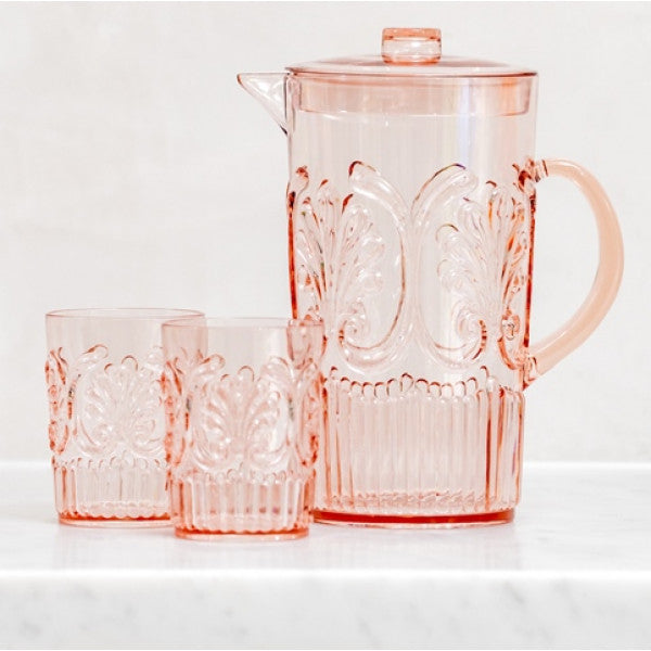 Acrylic Pitcher Jug in Blush