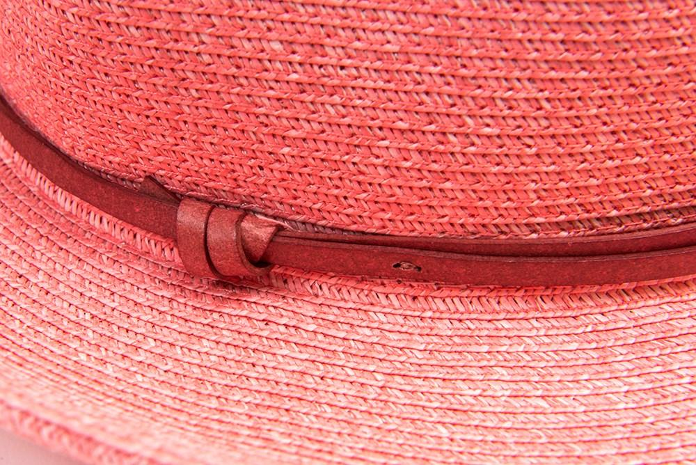 BORSALINO HAT | Rose | TRAVAUX EN COURS | Summer Fashion