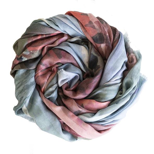 Urban Fable wool silk scarf Canguu