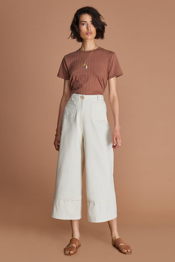 Sancia Caroline Pant in vintage cream