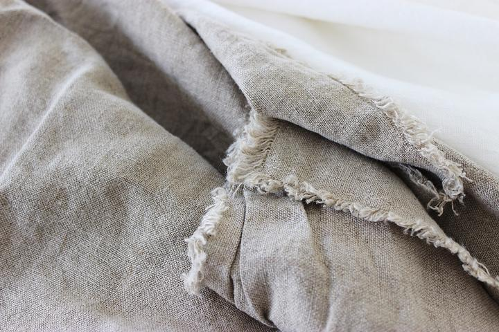 COTTESLOE PURE LINEN BEDCOVER by Bedtonic | Natural