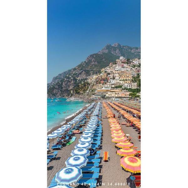 DESTINATION BEACH TOWEL | Positano Summer