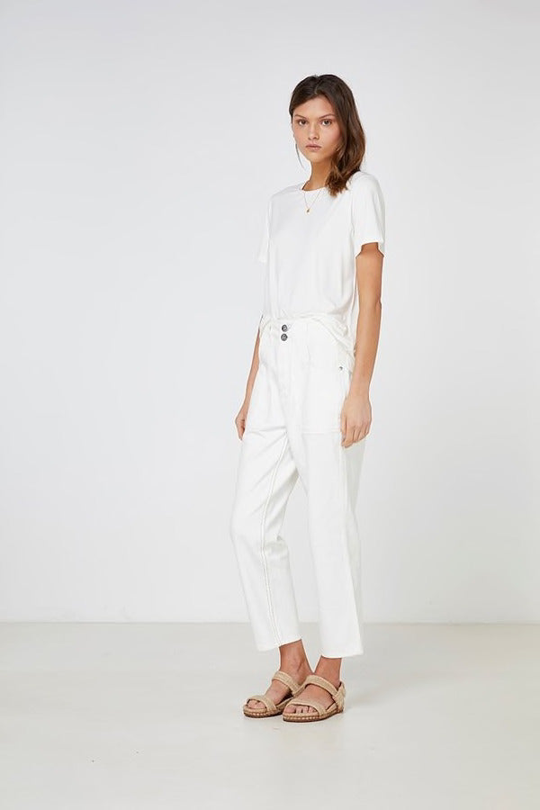 Elka Collective - Thea Tee White - Womens Fashion - Mosman Park - Perth