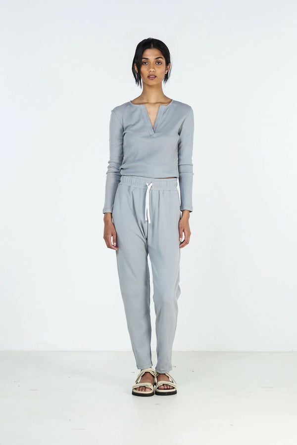 WINTER PJ SET | Dusty Blue | Elka Collective