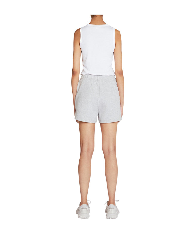 TRADEMARK SHORT | Light Grey Marle | Elka Collective