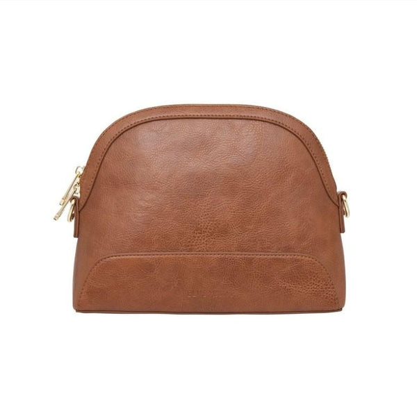 BRONTE DY BAG | Tan Pebble | Elms & King