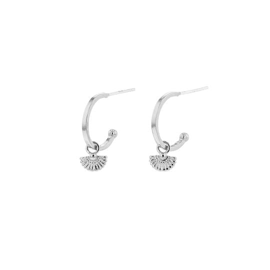 PRIYA SLEEPERS | Silver | Jolie and Deen | Earrings