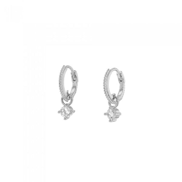 Jolie and Deen Jose Sleeper Earrings in Silver