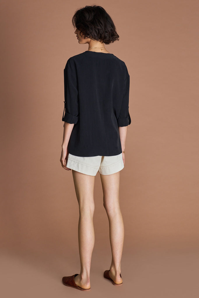 Sancia Maia Shirt in onyx black