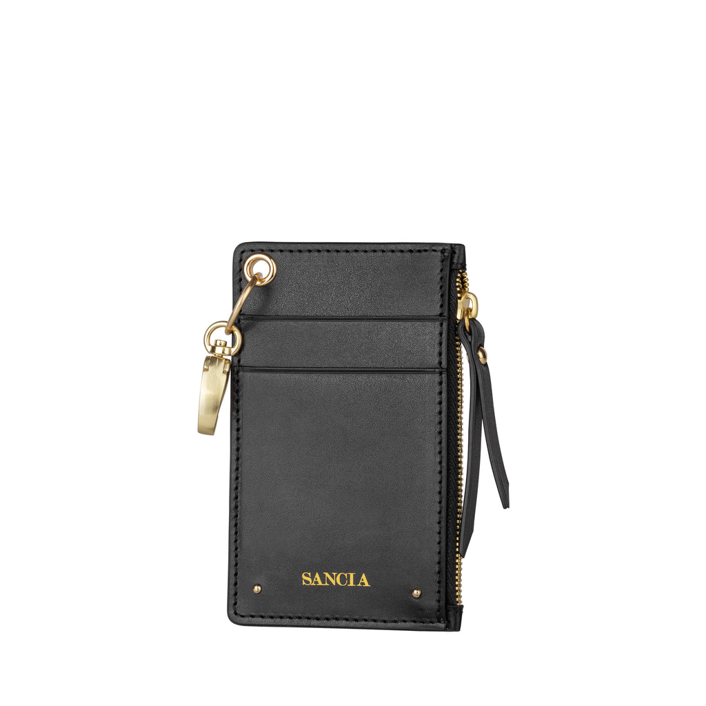Sancia Mimmie Card pouch in black