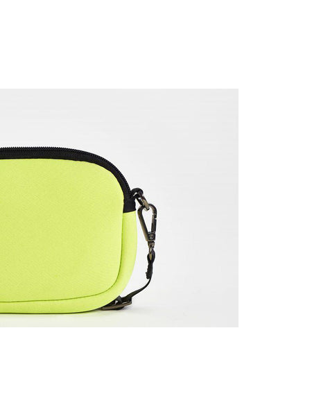 Base Supply Mini Base neoprene cross body bag in citrus