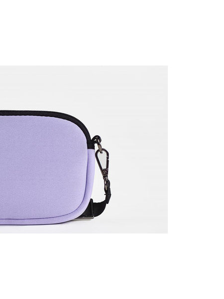 Base Supply Mini Base neoprene cross body bag in lilac
