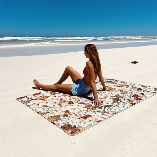 NEOPRENE PICNIC BLANKET | Natural Art | murph&murph