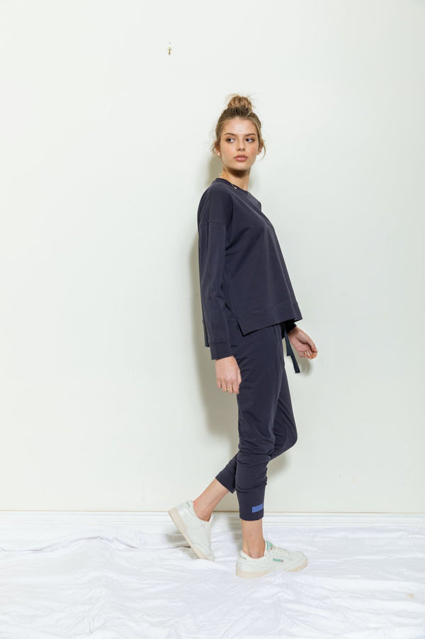 Bande Studio Lightweight Sweat in navy