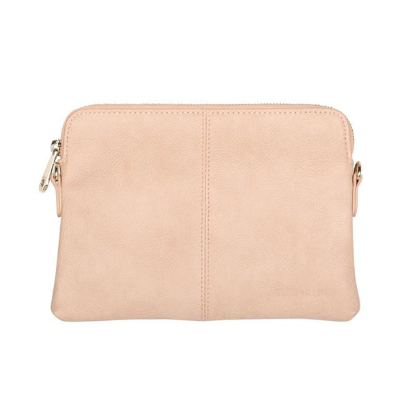 Elms and King Bowery wallet bag in nude pebble