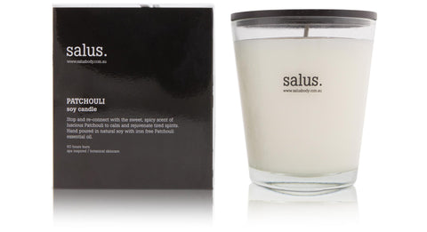 Patchouli Soy Candle - Salus Home