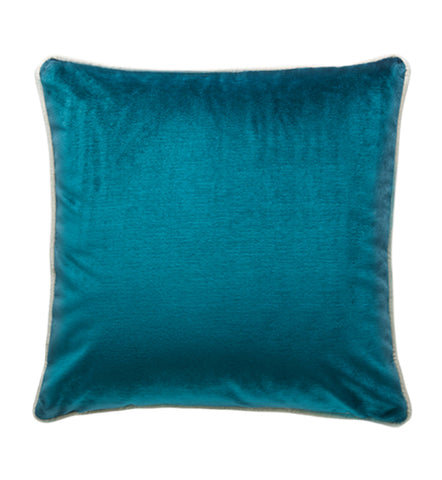 Darcy and Duke SOHO VELVET CUSHION 50cm | Peacock