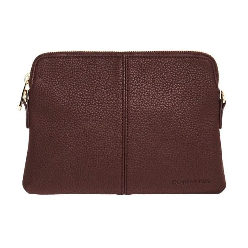 Elms and King Bowery bag wallet in Pinot