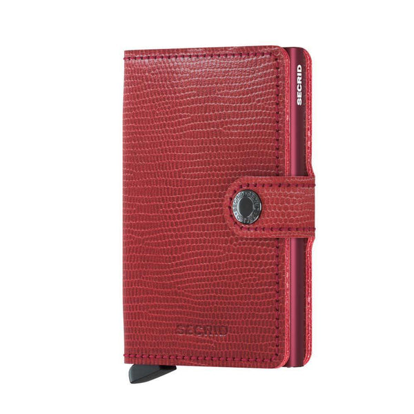Secrid Miniwallet rango red-bordeaux